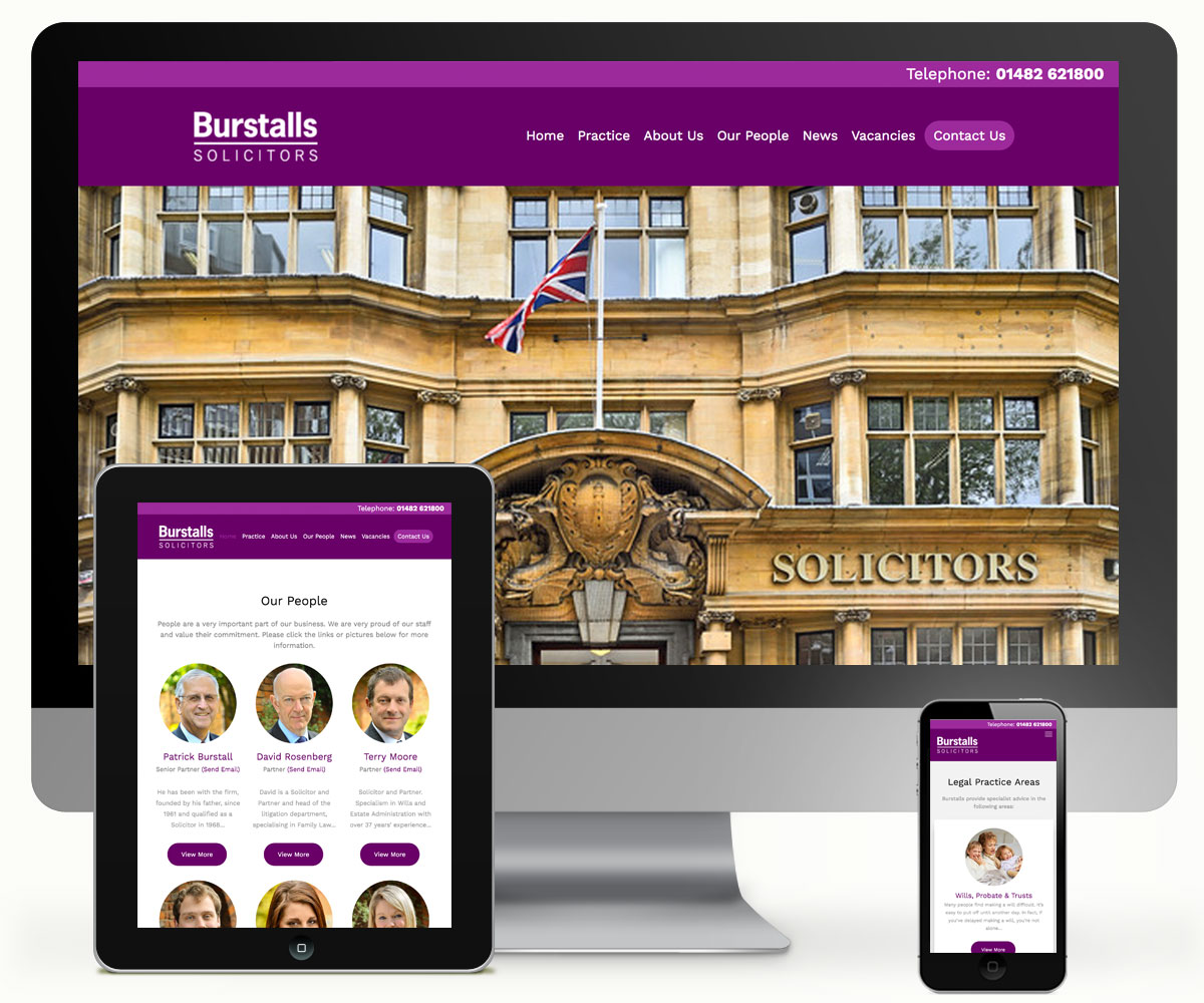 Burstalls Solicitors Website