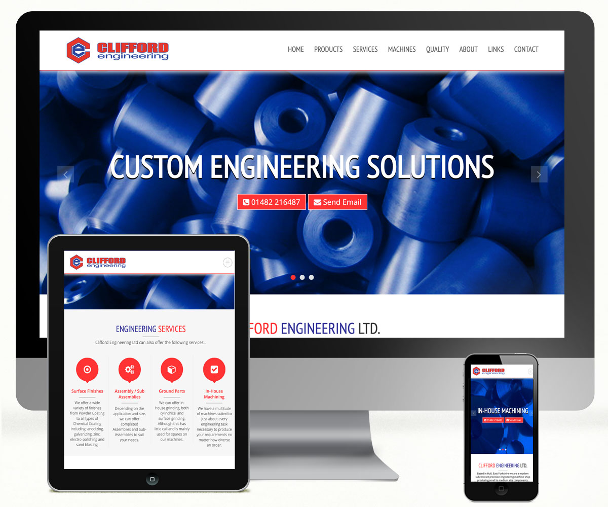 Clifford Engineering Website
