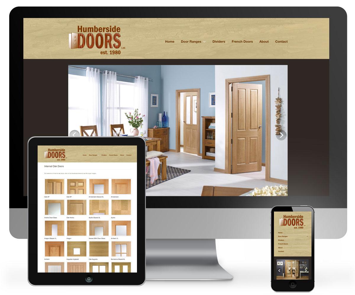 Humberside Doors Website & Humberside Doors Website - 939 DESIGN Hull Yorkshire.